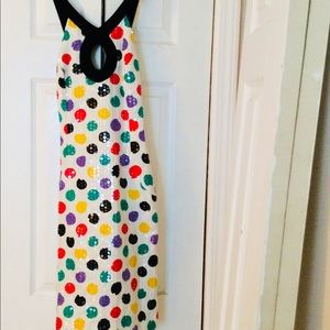Vintage, Multicolored, Polka Dot Dress Sz 4